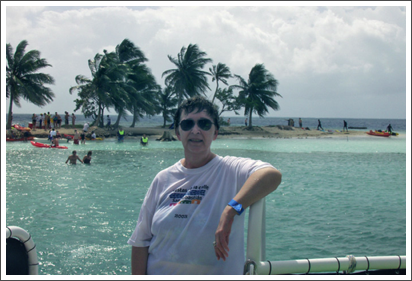 At an island offshore from Belize–March, 2008