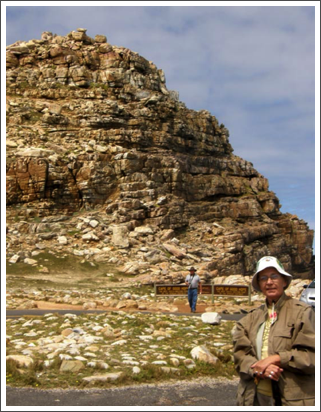 At the end of Africa: Cape of Good Hope, Oct. 2009