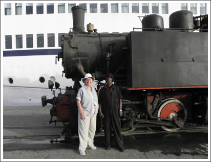 A relic from the past: 1930's train in Eritrea–March, 2010