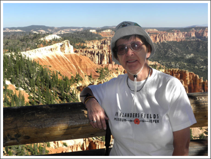 At the Grand Canyon–June, 2012