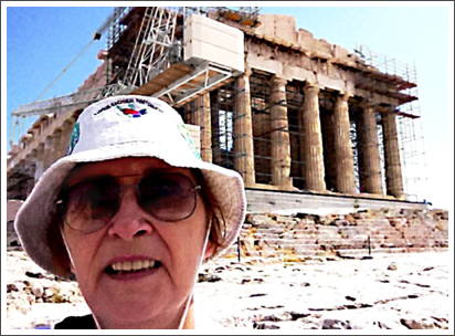 Climbing the Acropolis to the Parthenon–Sep. 2011