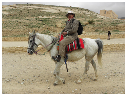 Pity the poor pony, Petra, Jordan–March, 2010