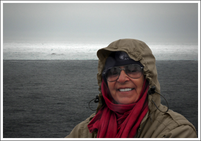 At the Polar Ice Barrier north of Svalbard–July, 2010