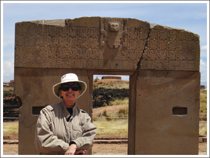 At the Gate of the Sun in Tiahuanaco, Bolivia–Sep. 2013