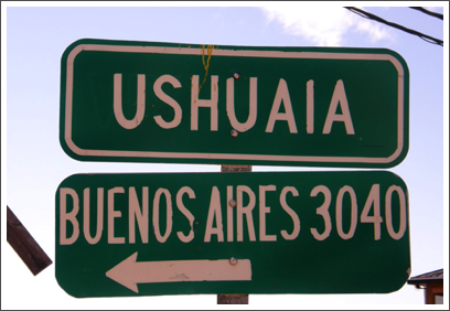 USHUAIA–the 'southernmost city in the world' is a long way from everything