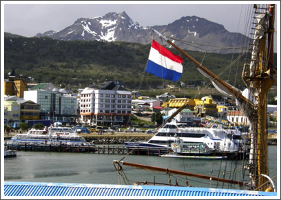 USHUAIA–a popular gateway to Antarctica, the city has modern facilities for tourists