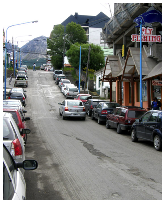 USHUAIA–the rest of the city is built on steep hills