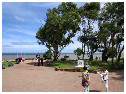 MONTEVIDEO–Parque Batlle, in the eastern part of the city, offers great views of the river and the city