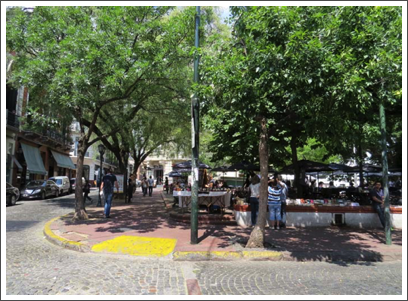 BUENOS AIRES–a few little parks were created when old buildings were torn down