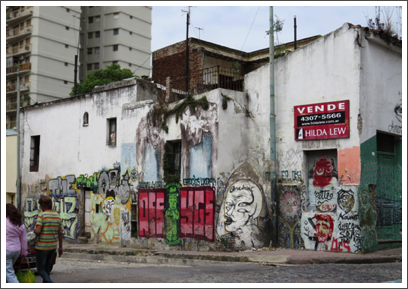 BUENOS AIRES–street art is visible almost everywhere