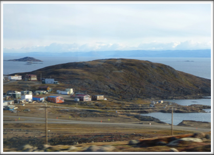 IQALUIT—the city is on Baffin Island and only accessible by air and boat, subject to ice