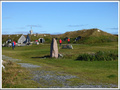 L'ANSE AUX MEADOWS—the only confirmed Norse or Viking site in North America outside of the settlements found in Greenland