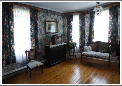 TWILLINGATE—parlor in the manor house