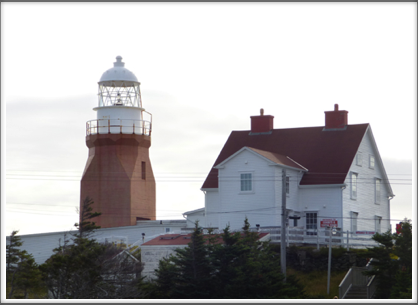TWILLINGATE—Long Point Lighthouse, completed 1876