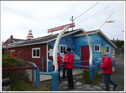 TWILLINGATE—a tourist trap on the coast was actually quite an interesting stop
